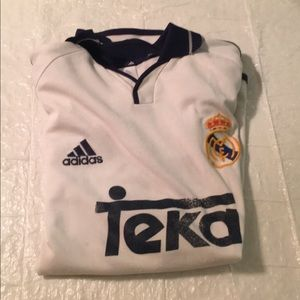 Vintage Adidas Real Madrid jersey size M